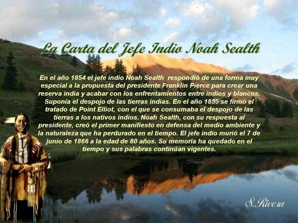 La Carta del Jefe Indio Noah Sealth