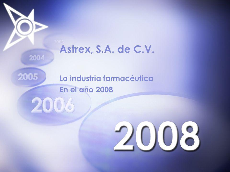 La industria farmacéutica En el año 2008