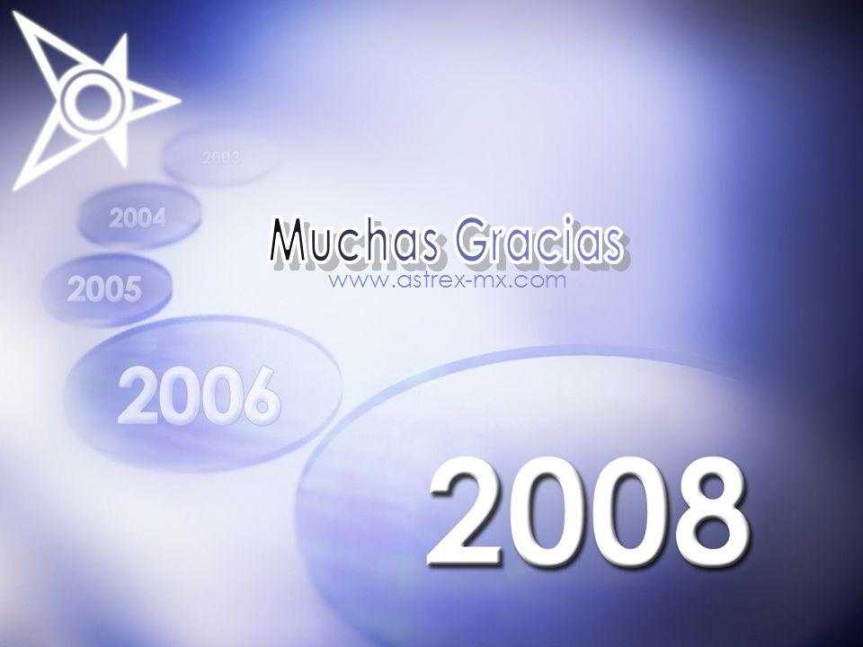 Muchas Gracias www.astrex-mx.com