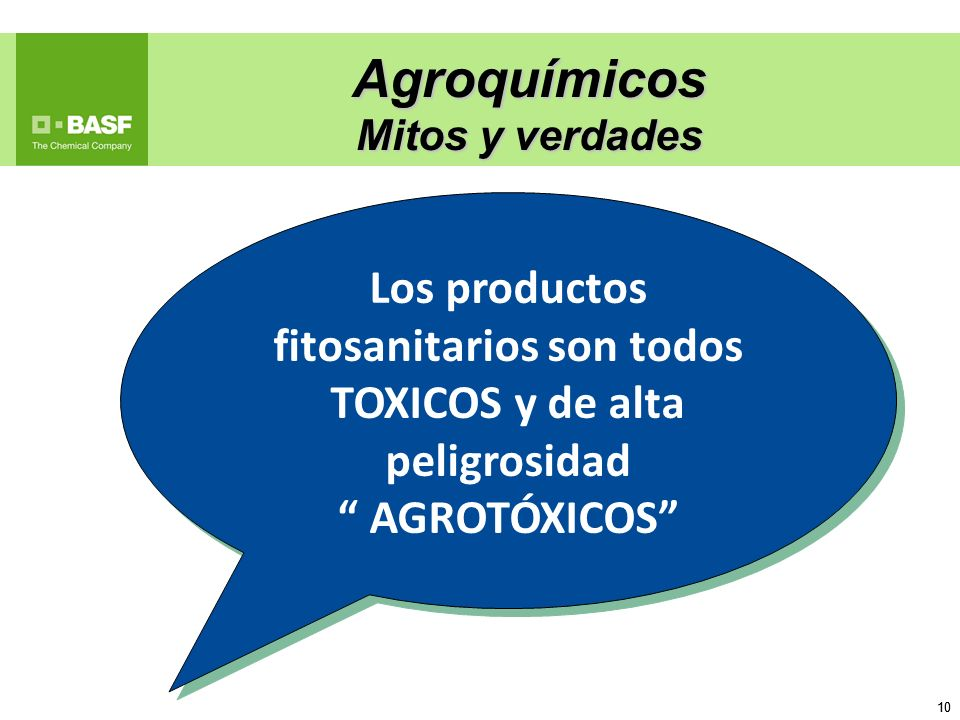 Los productos fitosanitarios son todos TOXICOS y de alta peligrosidad