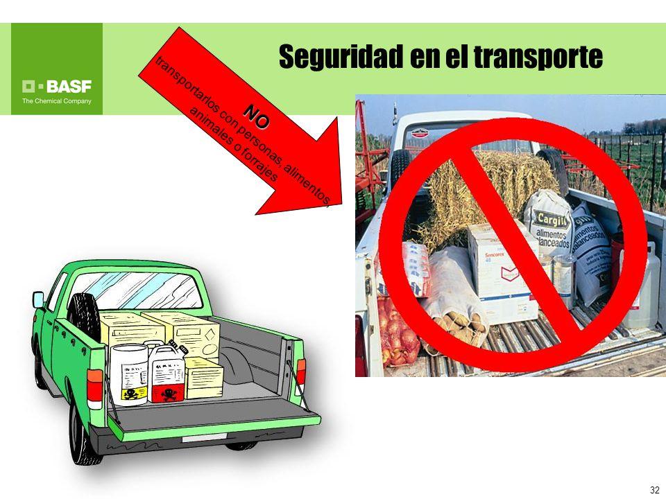 Seguridad en el transporte