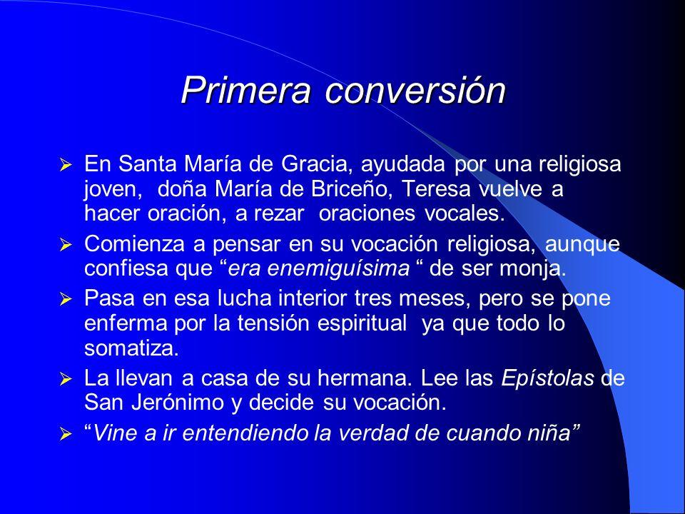 Primera conversión