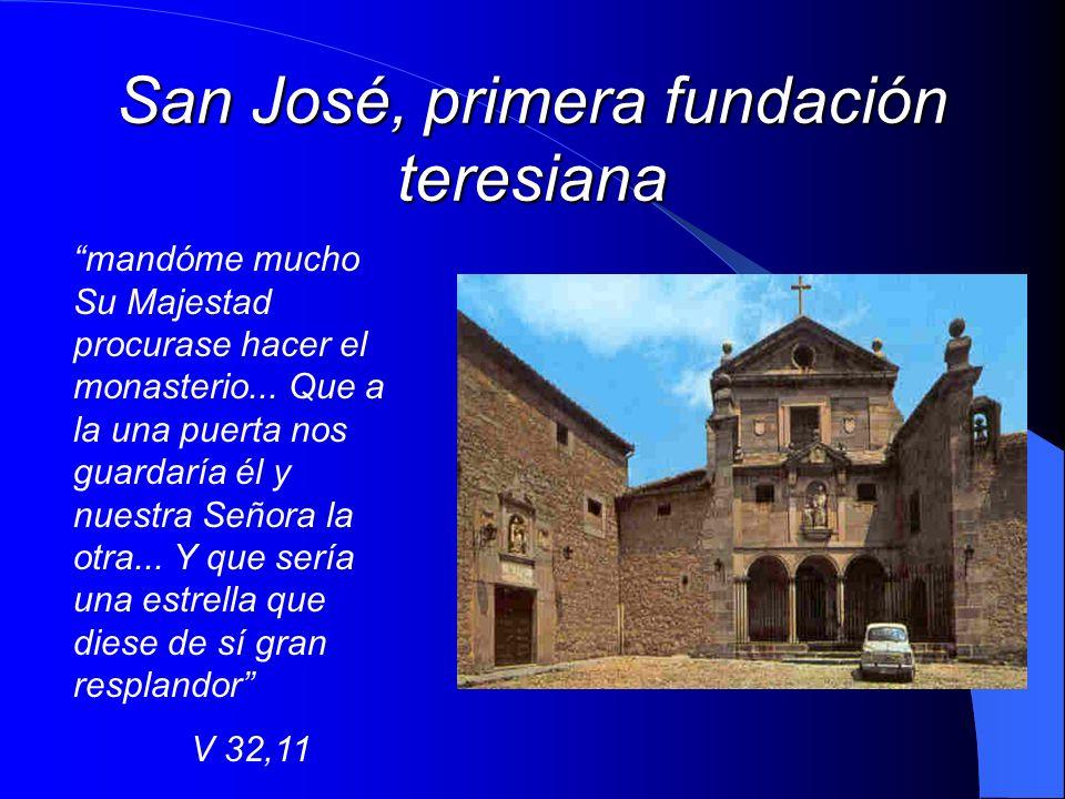 San José, primera fundación teresiana