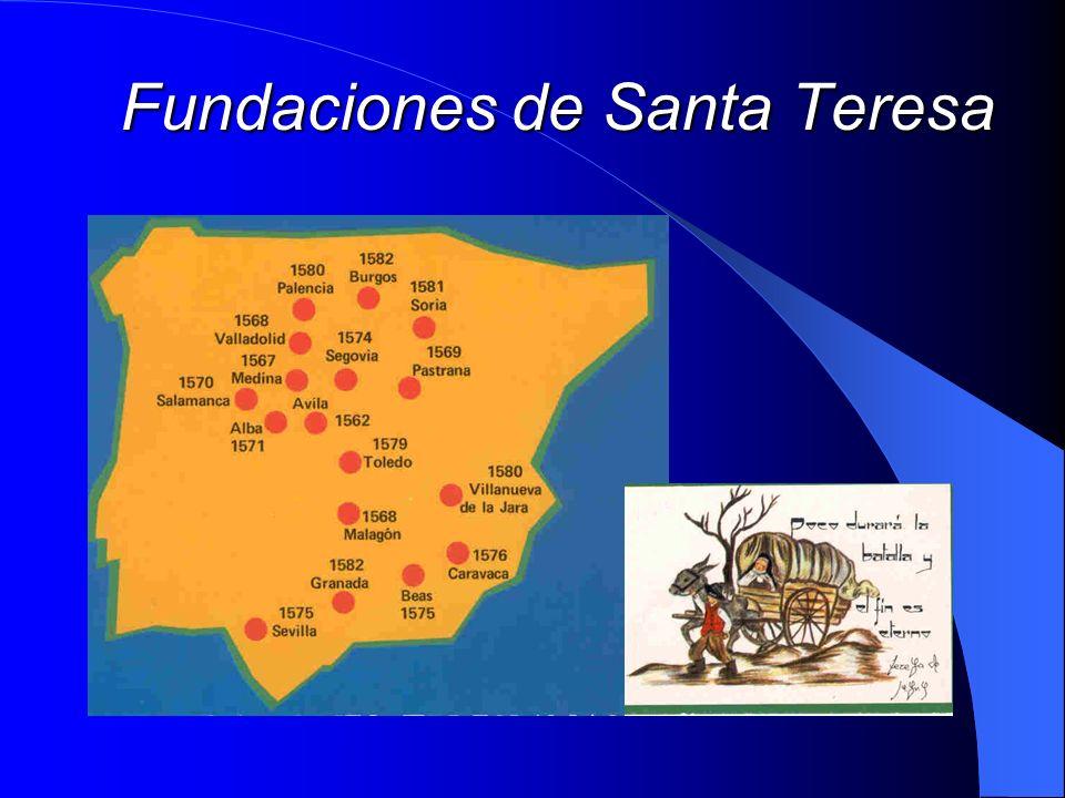 Fundaciones de Santa Teresa