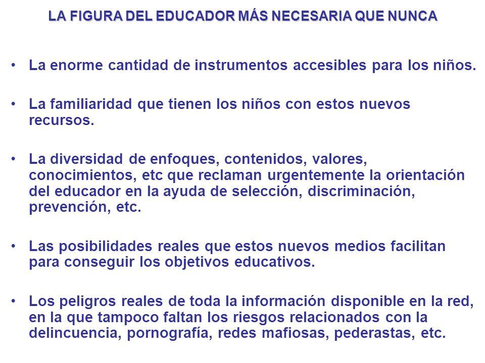 LA FIGURA DEL EDUCADOR MÁS NECESARIA QUE NUNCA