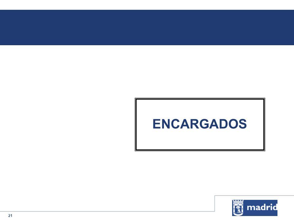 ENCARGADOS
