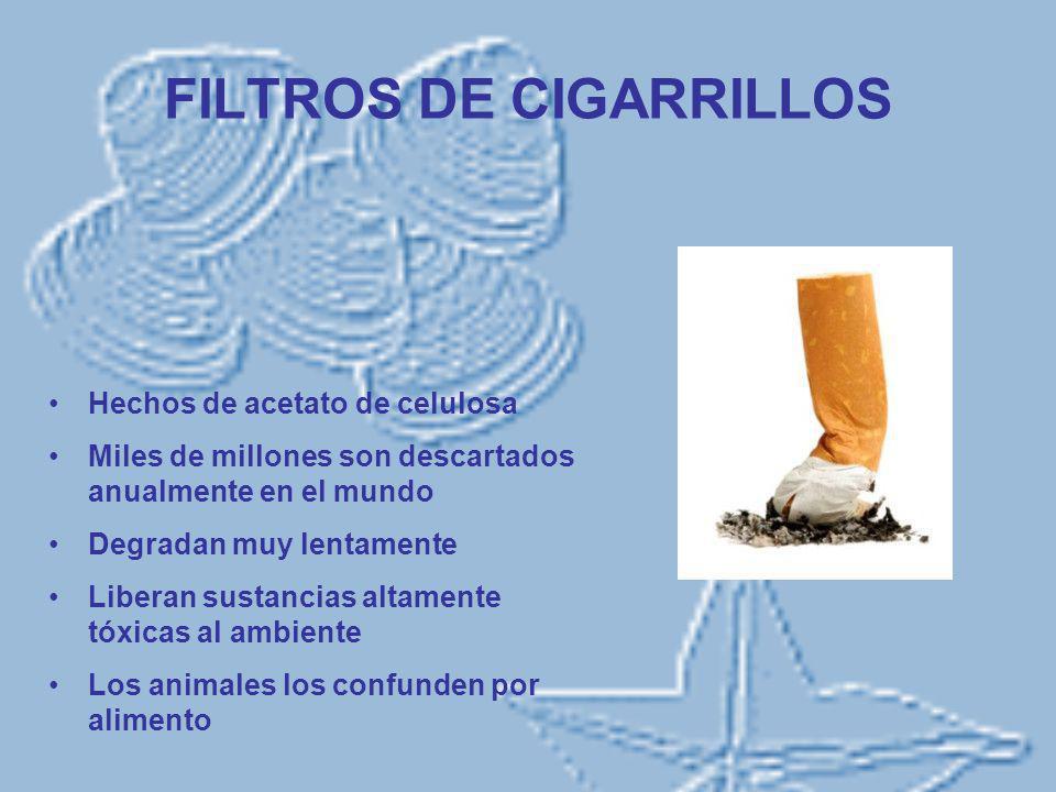 FILTROS DE CIGARRILLOS
