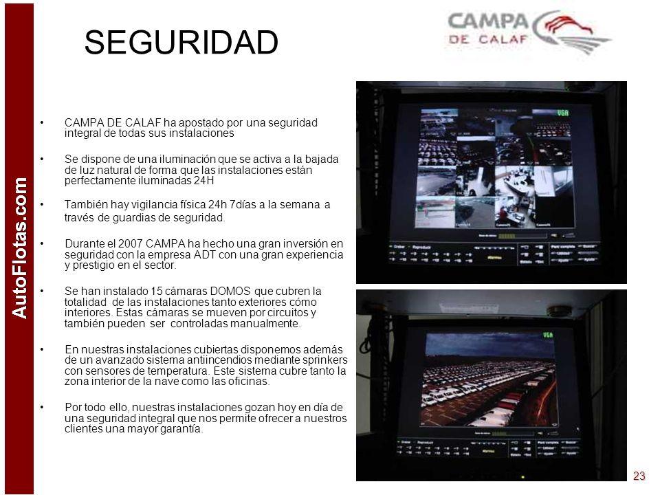 SEGURIDAD CAMPA DE CALAF ha apostado por una seguridad integral de todas sus instalaciones.