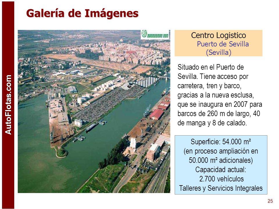 Centro Logistico Puerto de Sevilla (Sevilla)