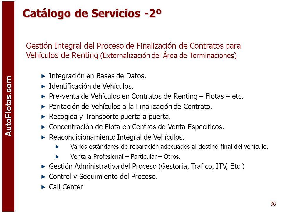 Catálogo de Servicios -2º