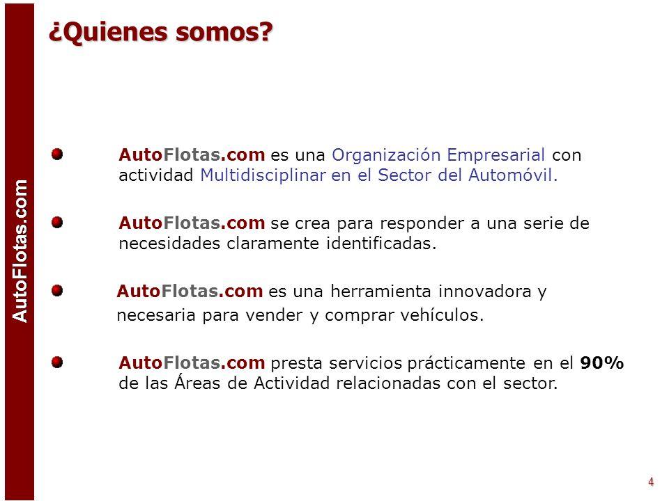¿Quienes somos AutoFlotas.com es una Organización Empresarial con actividad Multidisciplinar en el Sector del Automóvil.