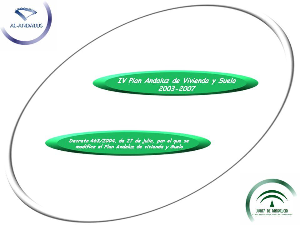 IV Plan Andaluz de Vivienda y Suelo 2003-2007