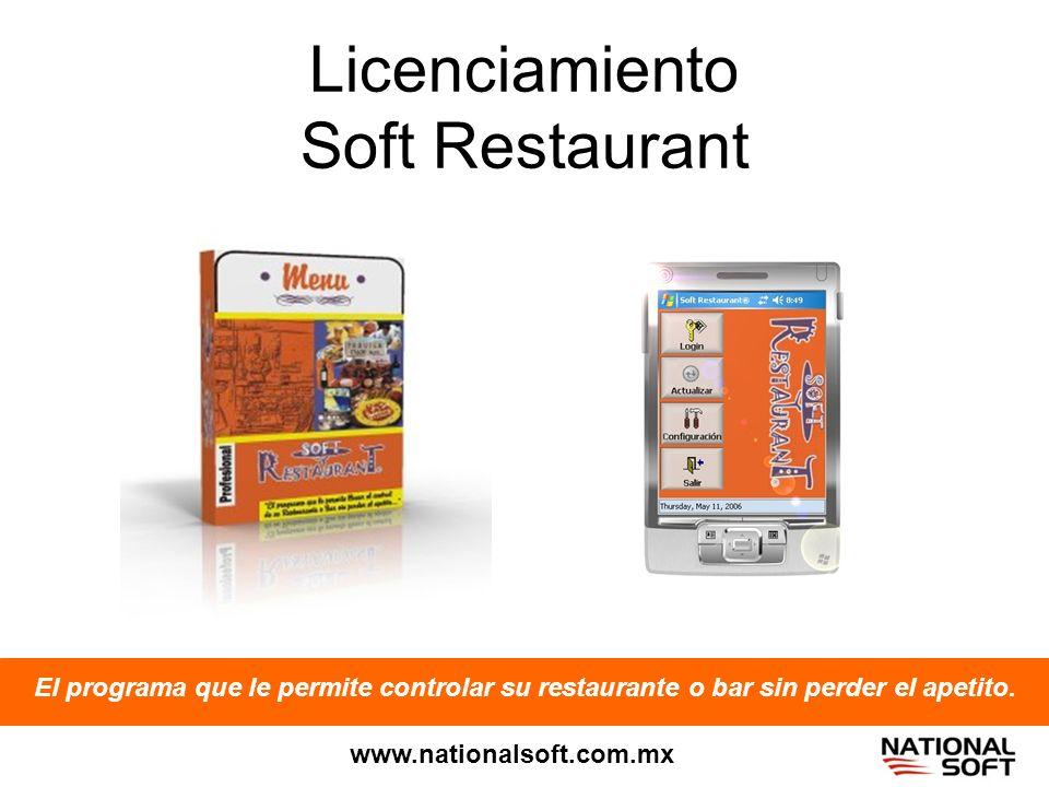 Licenciamiento Soft Restaurant