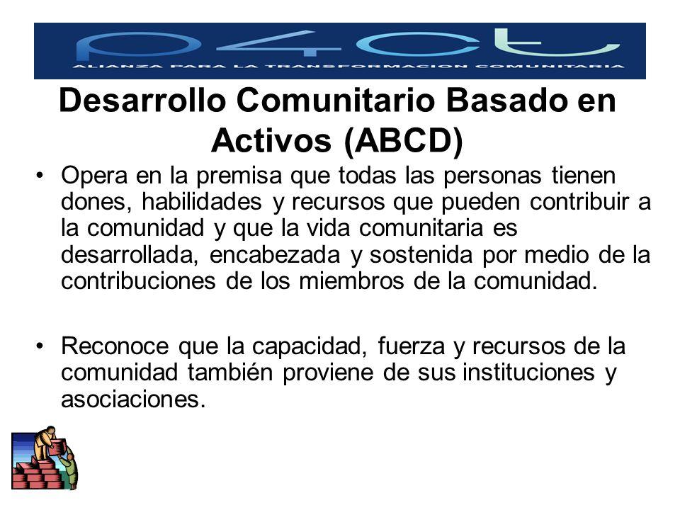 Desarrollo Comunitario Basado en Activos (ABCD)