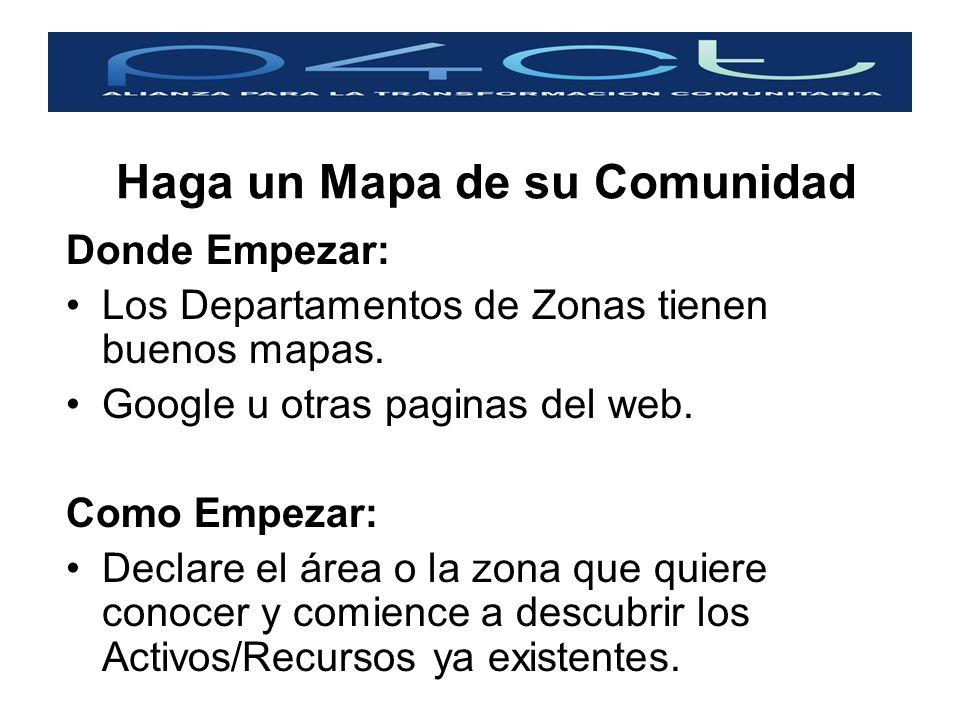 Haga un Mapa de su Comunidad