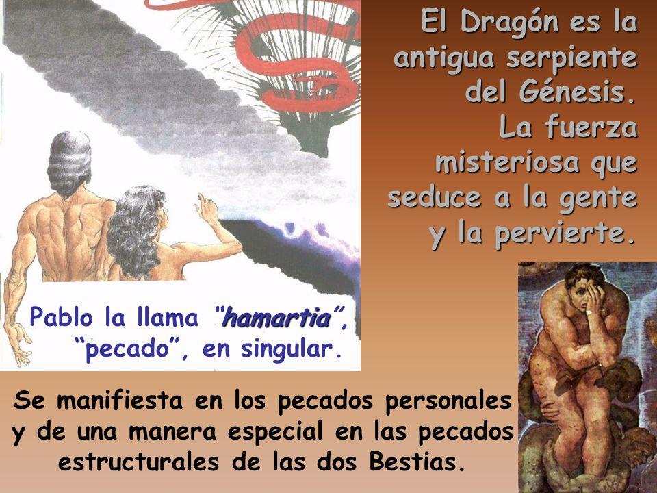 El Dragón es la antigua serpiente del Génesis. La fuerza