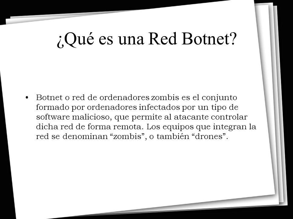 ¿Qué es una Red Botnet
