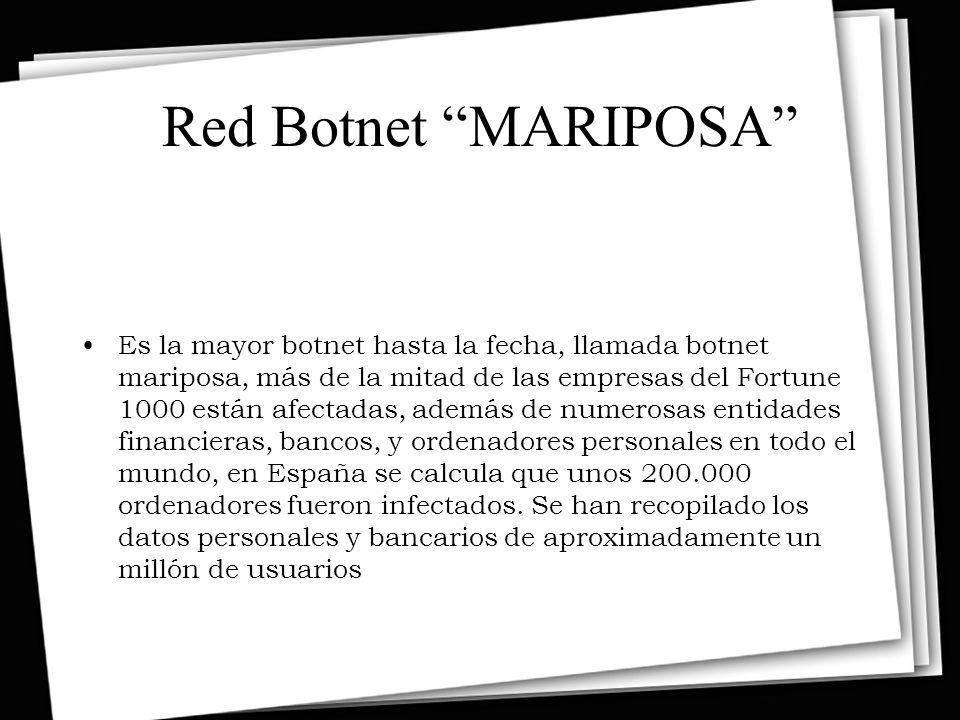 Red Botnet MARIPOSA