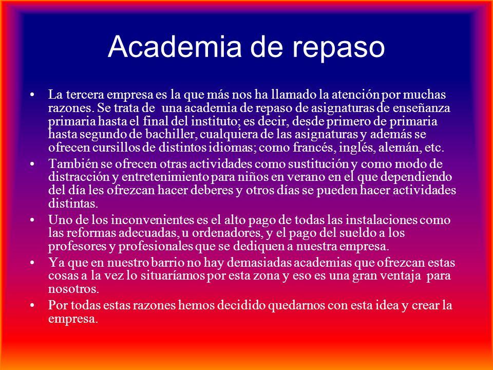 Academia de repaso