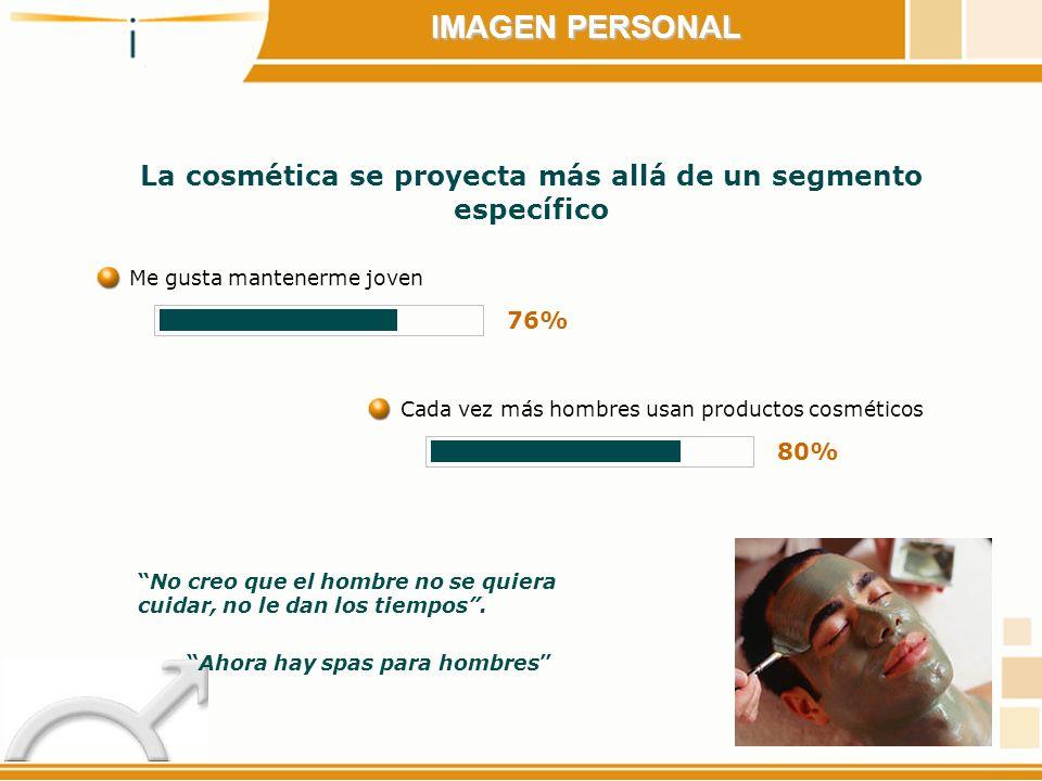 La cosmética se proyecta más allá de un segmento específico