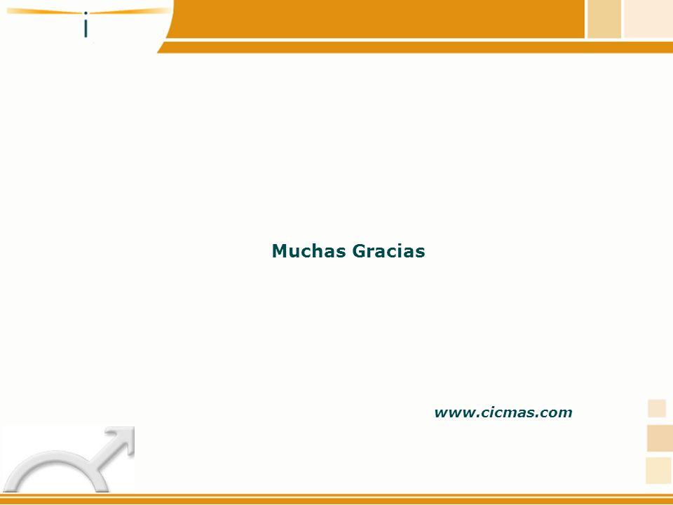 Muchas Gracias www.cicmas.com