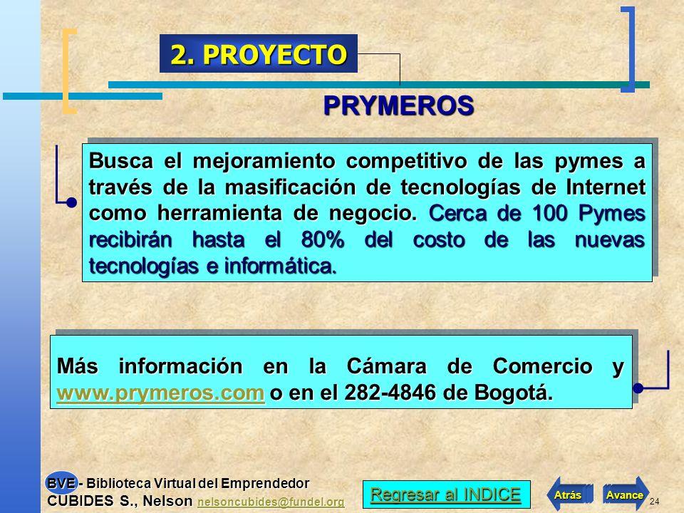 2. PROYECTO PRYMEROS.