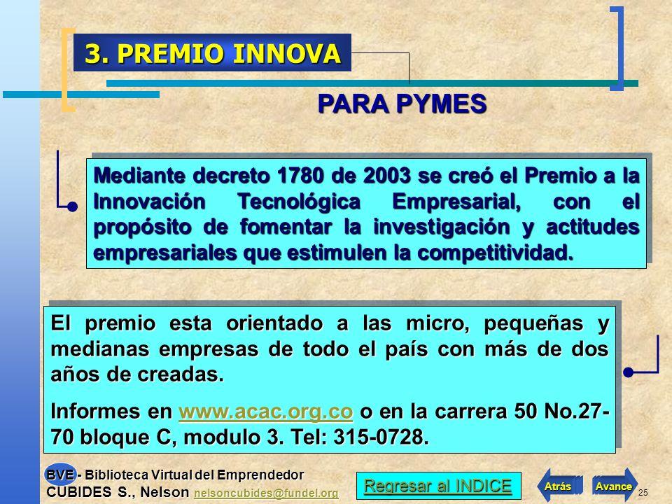 3. PREMIO INNOVA PARA PYMES