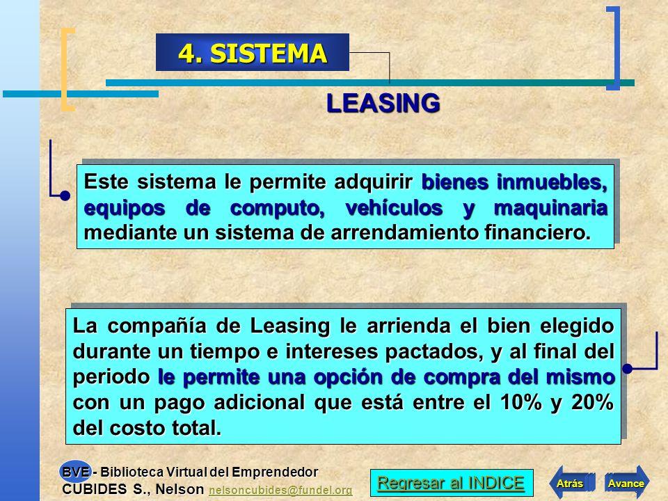 4. SISTEMA LEASING.