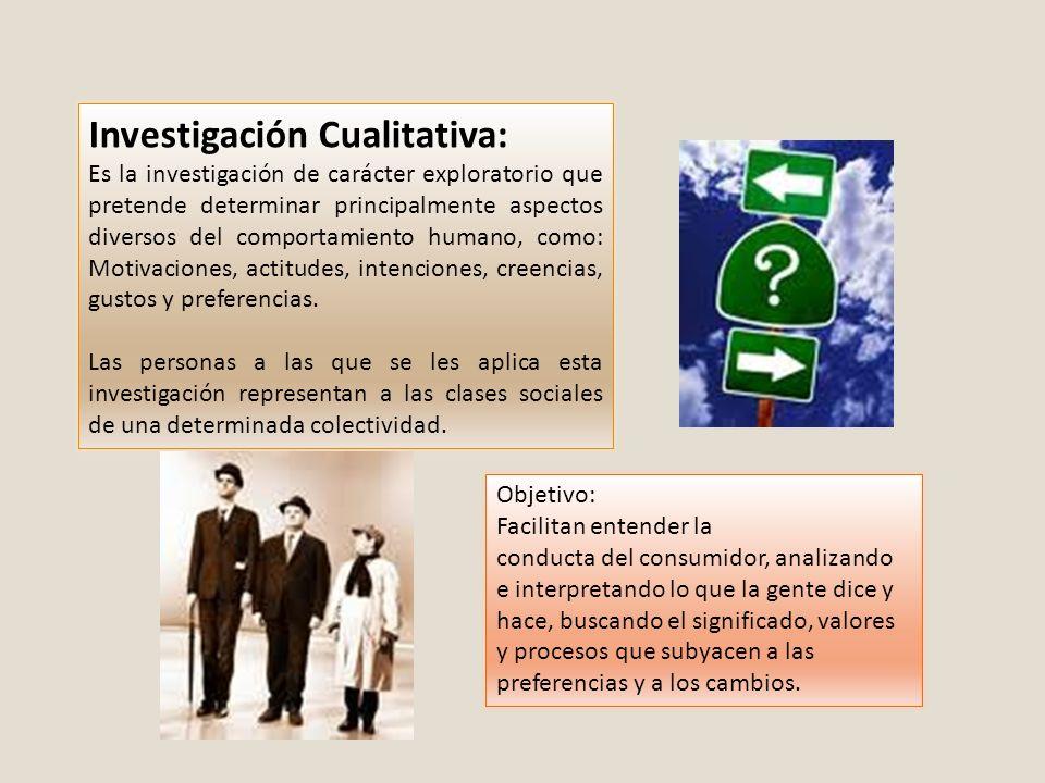 Investigación Cualitativa:
