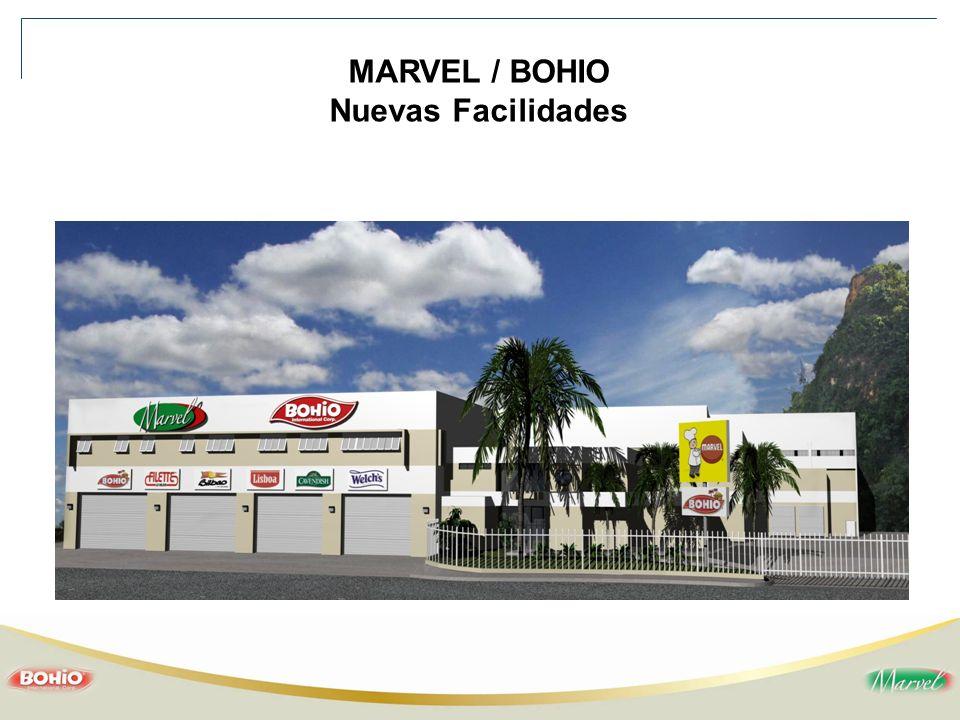 MARVEL / BOHIO Nuevas Facilidades