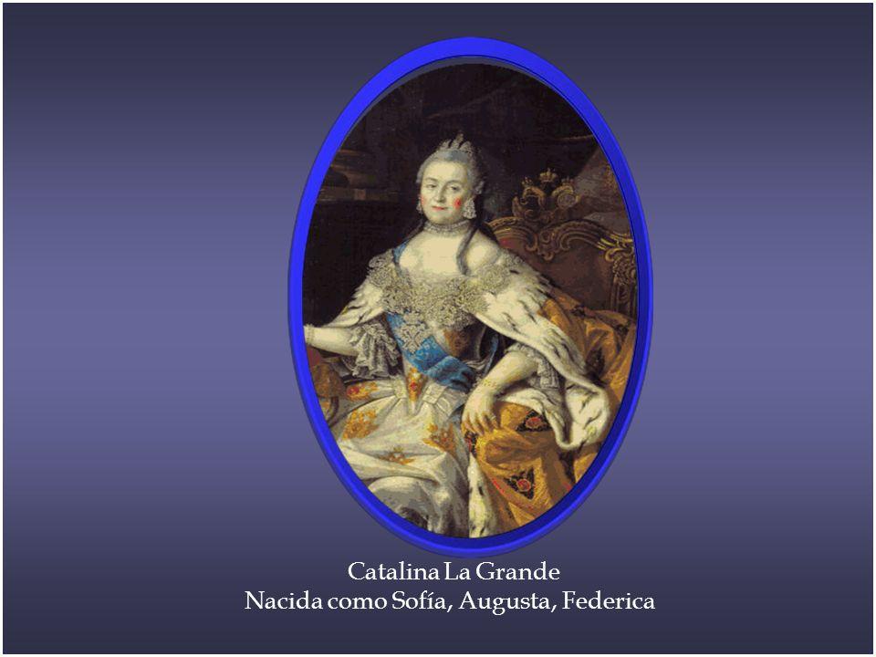 Nacida como Sofía, Augusta, Federica