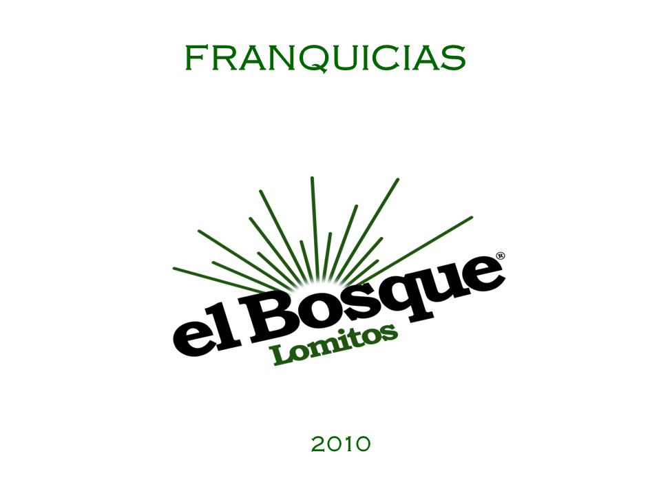 FRANQUICIAS 2010