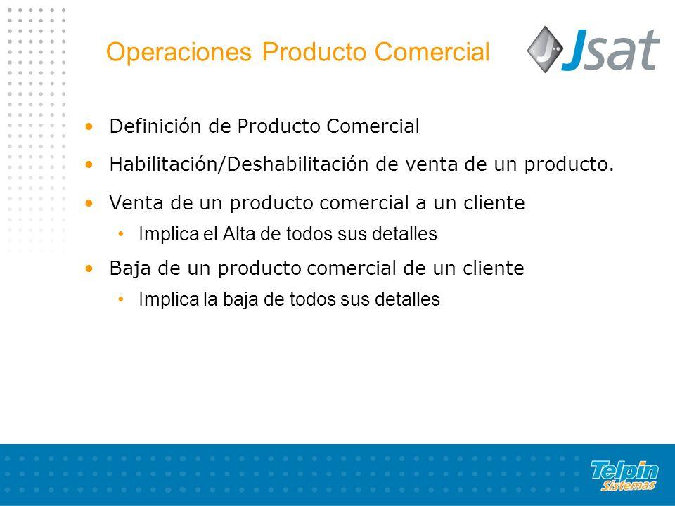 Operaciones Producto Comercial