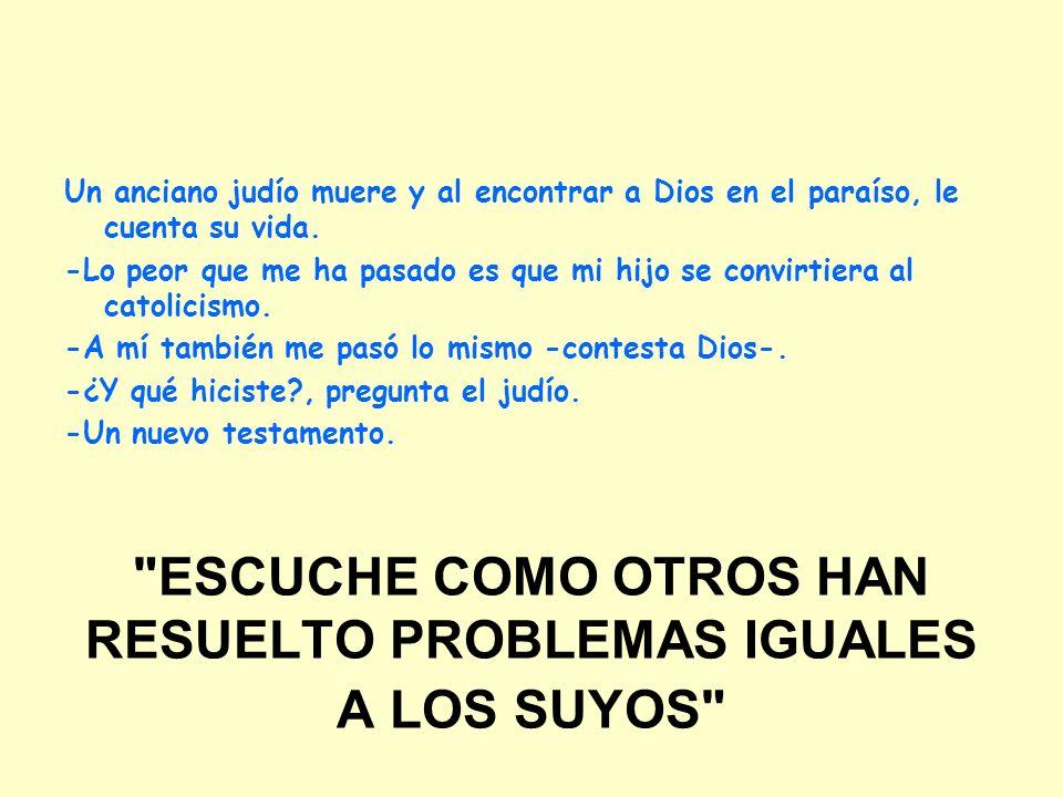 ESCUCHE COMO OTROS HAN RESUELTO PROBLEMAS IGUALES A LOS SUYOS