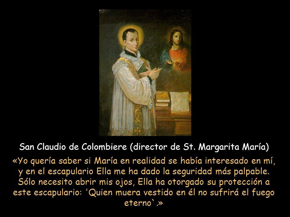San Claudio de Colombiere (director de St. Margarita María)