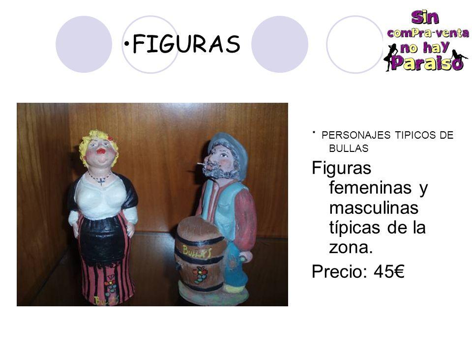 FIGURAS · PERSONAJES TIPICOS DE BULLAS