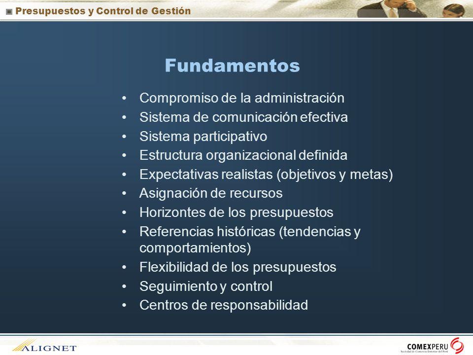 Fundamentos Compromiso de la administración