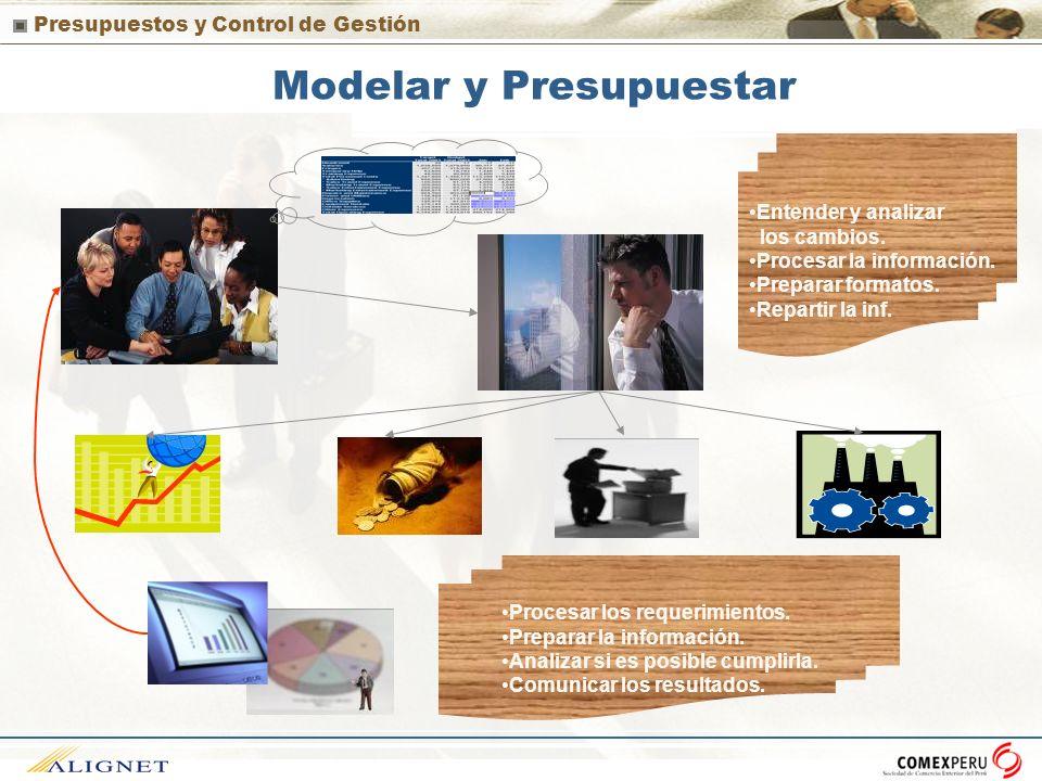 Modelar y Presupuestar
