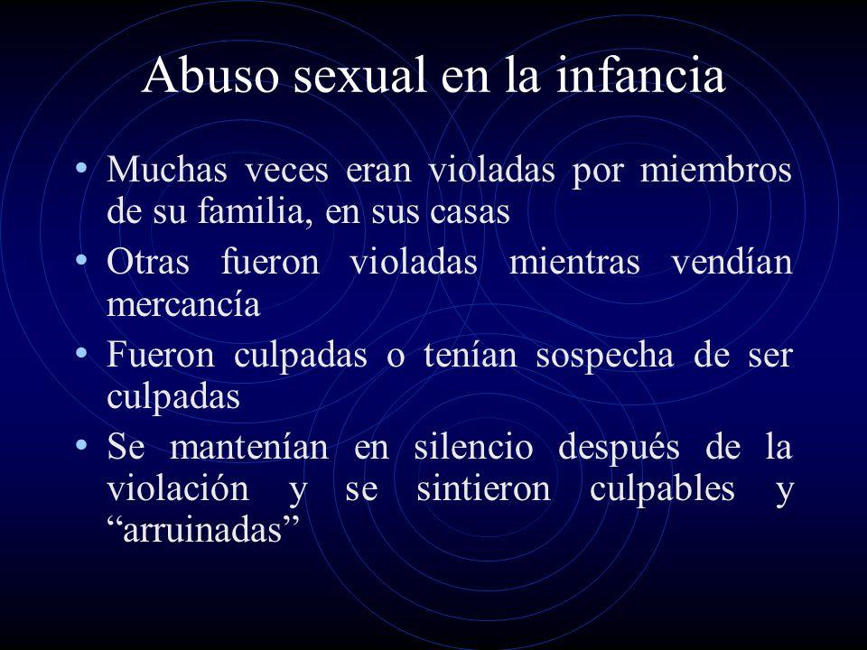 Abuso sexual en la infancia