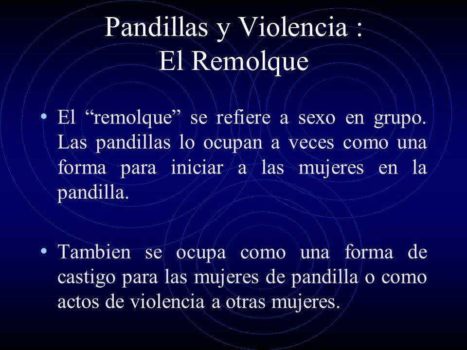 Pandillas y Violencia : El Remolque