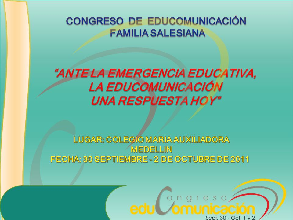 ANTE LA EMERGENCIA EDUCATIVA, LA EDUCOMUNICACIÓN UNA RESPUESTA HOY