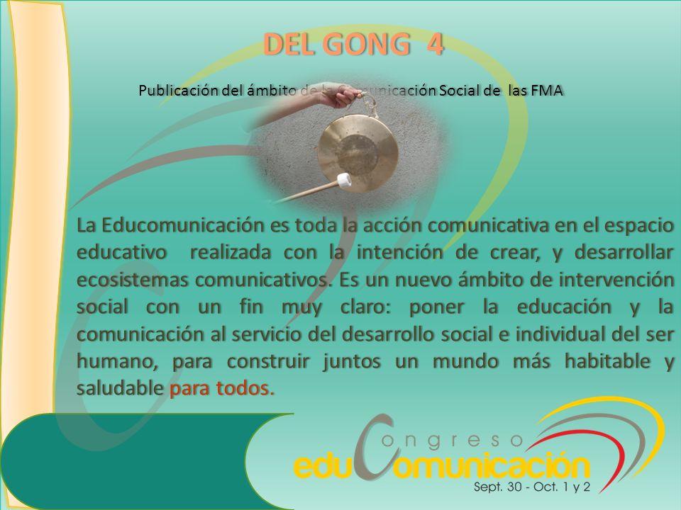 Publicación del ámbito de la Comunicación Social de las FMA