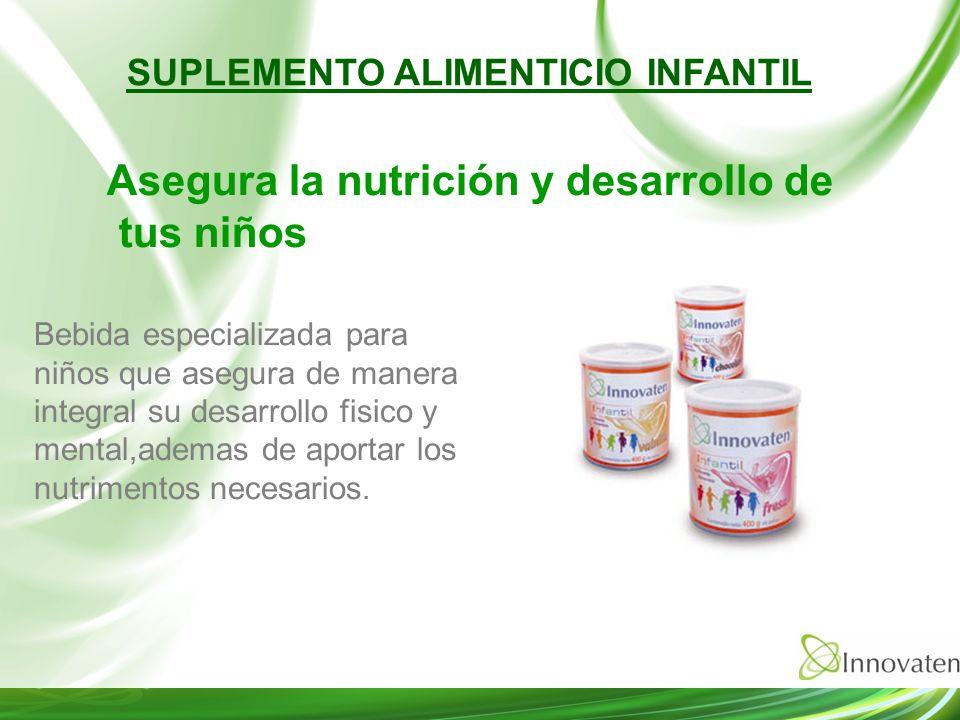 SUPLEMENTO ALIMENTICIO INFANTIL