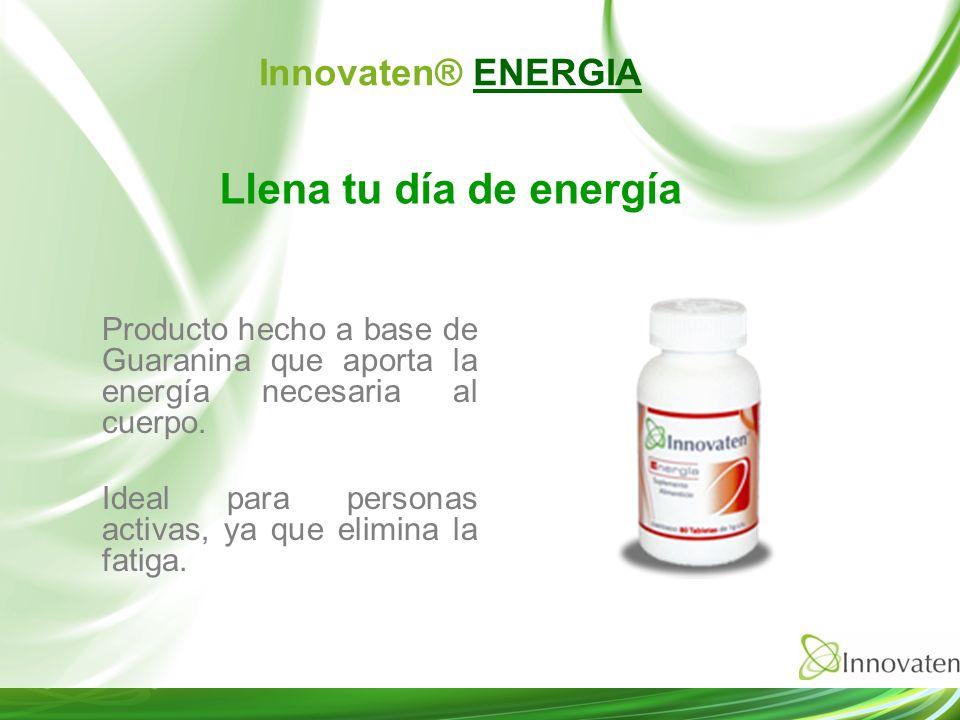 Llena tu día de energía Innovaten® ENERGIA