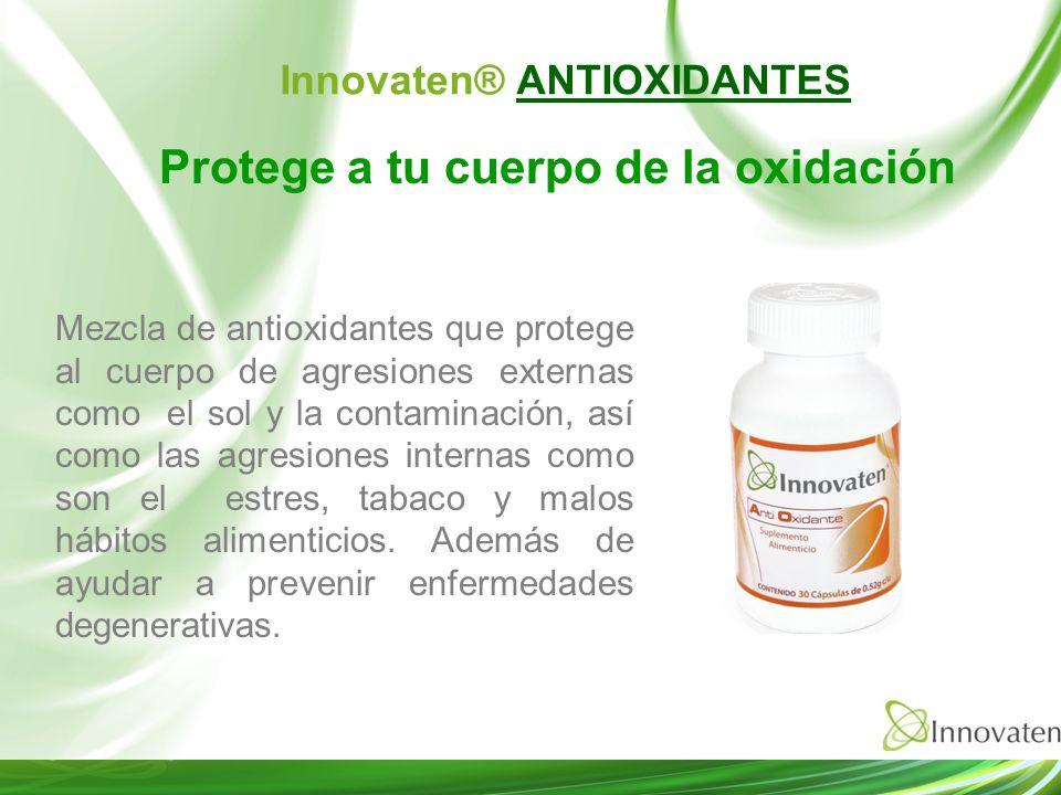 Innovaten® ANTIOXIDANTES Protege a tu cuerpo de la oxidación