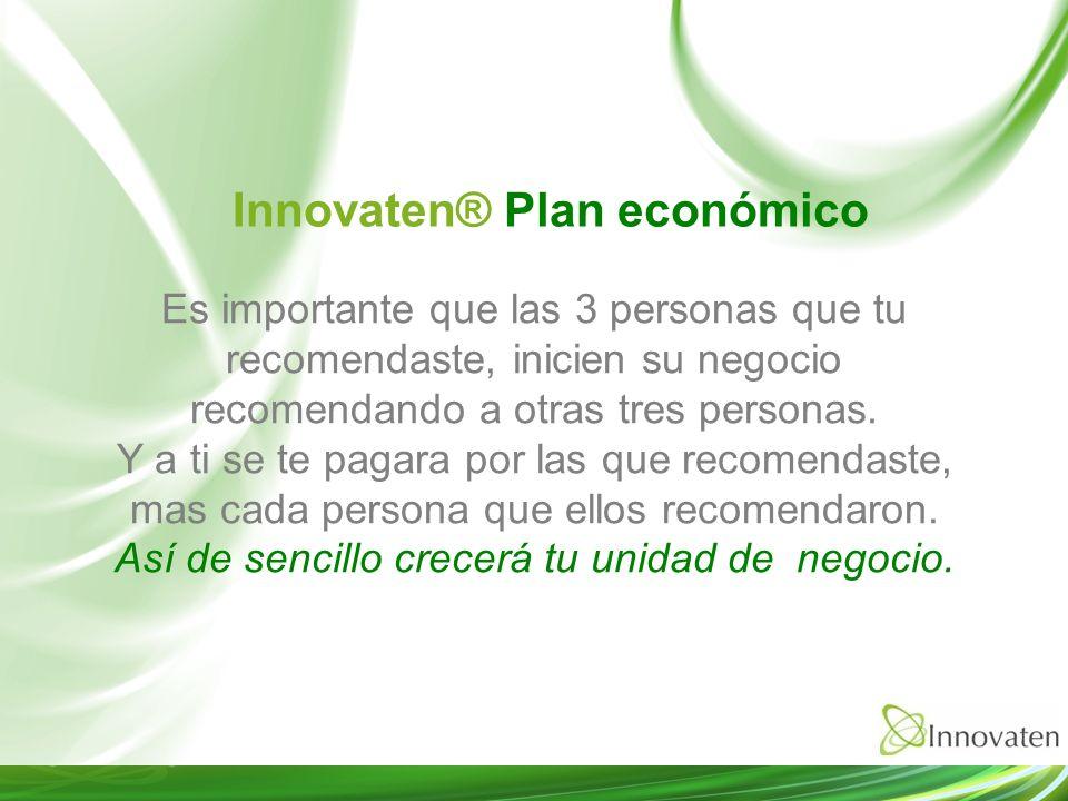 Innovaten® Plan económico