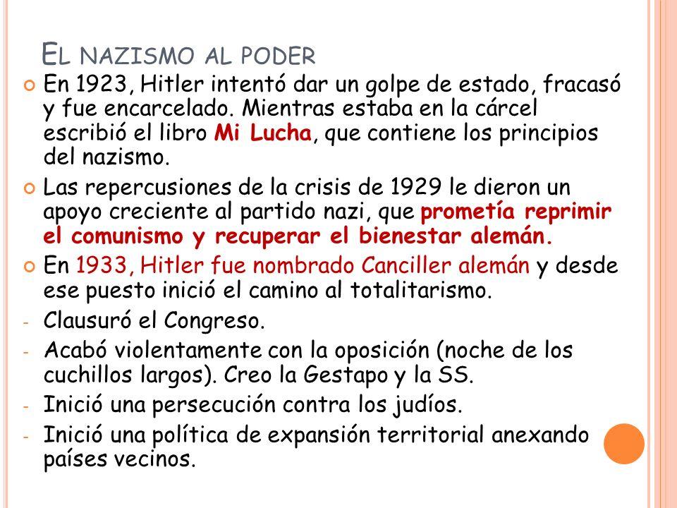 El nazismo al poder