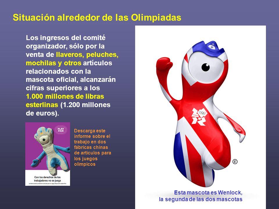 Situación alrededor de las Olimpiadas
