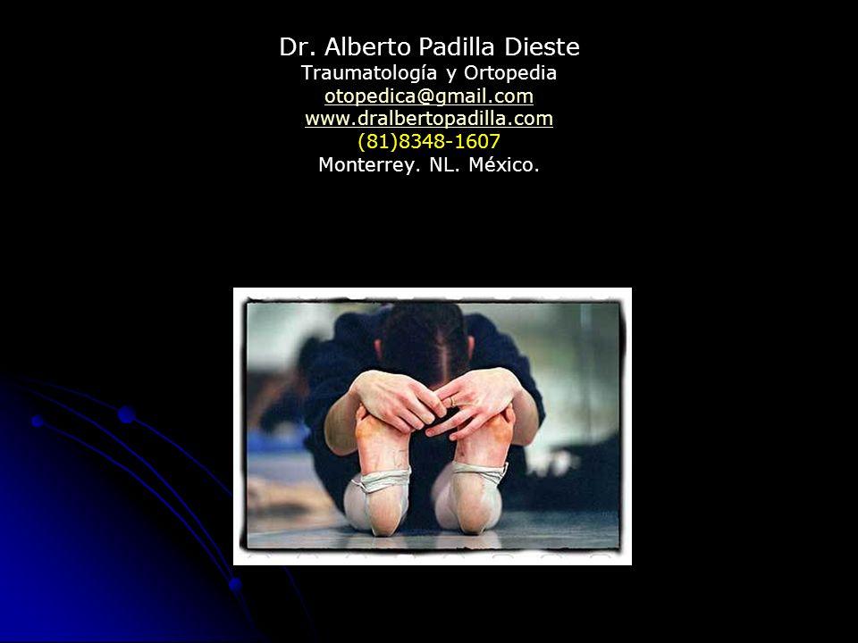 Dr. Alberto Padilla Dieste Traumatología y Ortopedia otopedica@gmail