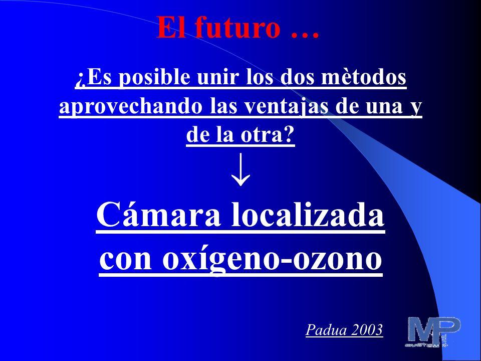  Cámara localizada con oxígeno-ozono El futuro …